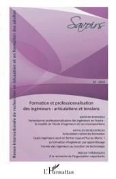 Formation et professionnalisation des ingénieurs : articulations et tensions