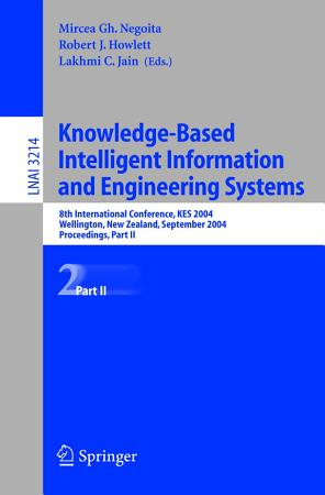 Knowledge Based Intelligent Information and Engineering Systems 2 PDF