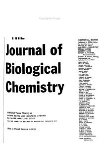 The Journal of Biological Chemistry PDF