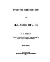 French and Indians of Illinois River PDF