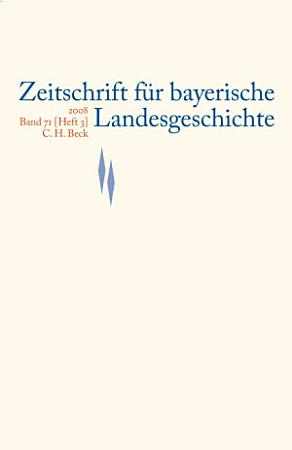 ZBLG 2008  Band 71  Heft 3 PDF