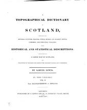 A Topographical Dictionary of Scotland: From Keanlochbervie to Zetland