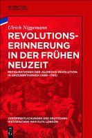 Revolutionserinnerung in der Fr  hen Neuzeit PDF