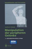 Manipulation der peripheren Gelenke PDF