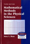 Mathematical Methods in the Physical Sciences PDF