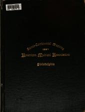 Souvenir [of The] American Medical Association Semi-centennial Meeting, Philadelphia, 1897