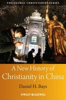 A New History of Christianity in China PDF