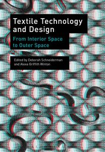 Textile Technology and Design Book