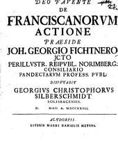 De Franciscanorum Actione