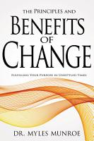 The Principles and Benefits of Change PDF