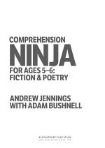 Comprehension Ninja for Ages 5-6: Fiction and Poetry