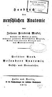 Handbuch der menschlichen Anatomie: Band 3