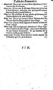 L'histoire de l'ingénieux et redoutable chevalier don Quixote de La Manche: Volume2