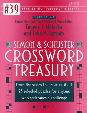 Simon and Schuster Crossword Treasury