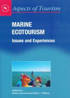 Marine Ecotourism PDF