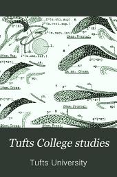 Tufts College Studies: Scientific series, Issue 31, Volume 4 - Issue 38, Volume 4