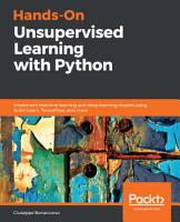 Hands On Unsupervised Learning with Python PDF
