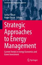 Strategic Approaches to Energy Management PDF