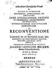 De reconventione