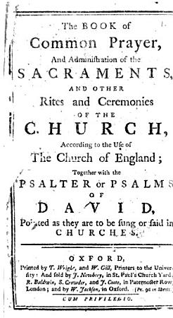 The Book of Common Prayer     Together with the Psalter Or Psalms of David  Etc PDF