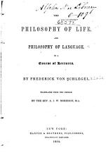 The Philosophy of Life  and Philosophy of Language PDF