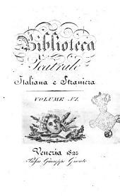 Biblioteca teatrale italiana e straniera. Volume 1.-: Volume 6, Volume 6