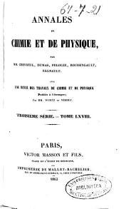 Annales de chimie et de physique: Volume68