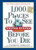 1 000 Places to See in the United States and Canada Before You Die  updated ed  PDF