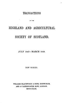 Transaction of the Highland and Agricultural society of scotland  PDF