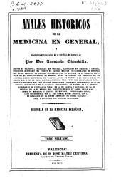 Anales históricos de la medicina en general,y biográfico-bibliogra?fico de la española en particular: Volumen 2