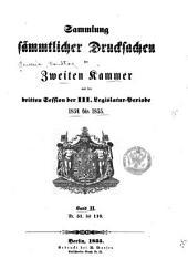 Sammlung der drucksachen ...: Band 2