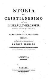 Storia del cristianesimo continuata dall'anno 1721 sino al 1800 da un ecclesiastico veneziano dell'abate di Berault-Bercastel: Volume 32