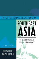 International Relations in Southeast Asia PDF