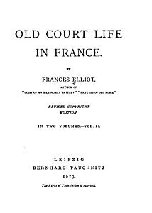 Old Court Life in France PDF