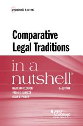 Comparative Legal Traditions in a Nutshell: Edition 4