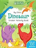 Scholastic Activities  My First Dinosaur Sticker Activity Book