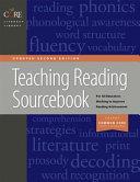Teaching Reading Sourcebook Book
