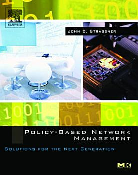 Policy Based Network Management PDF