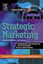 Strategic Marketing: Planning and Control