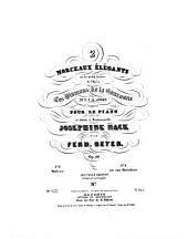 2 morceaux élégants sur des motifs favoris de l'opéra Les diamans de la couronne de D. F. E. Auber: pour le piano ; op. 59. Bolero, Volume 1