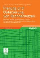 Planung und Optimierung von Rechnernetzen PDF