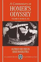 A Commentary on Homer s Odyssey PDF