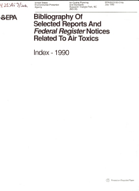 National Air Toxics Information Clearinghouse
