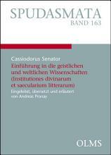 Einf  hrung in die geistlichen und weltlichen Wissenschaften  Institutiones divinarum et saecularium litterarum  PDF