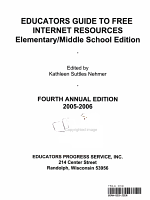 Educators Guide to Free Internet Resources PDF