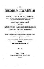 Il Codice Civile Generale Austriaco