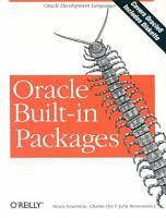 ORACLE BUILT IN PACKAGES  Avec une disquette PDF