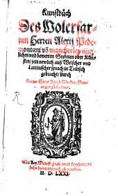 Kunstbuch ... von mancherley ... Secreten