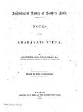 Notes on the Amarāvati Stūps