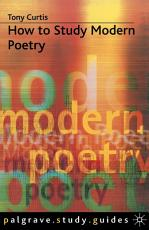 How to Study Modern Poetry PDF